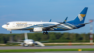 A picture of A4OBAG - Boeing 7378SH - Oman Air - © Kirill Naumenko