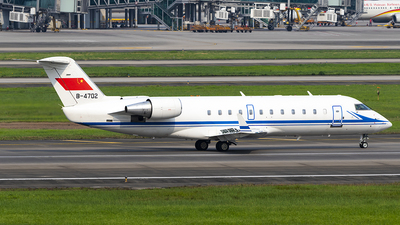 B-4702 - Bombardier CL-600-2B19 Challenger 800 - China - Navy