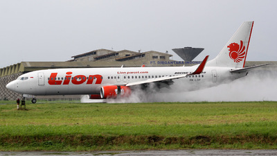 PK-LOP - Boeing 737-8GP - Lion Air
