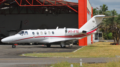 PT-FTE - Cessna 525A CitationJet 2 - Private