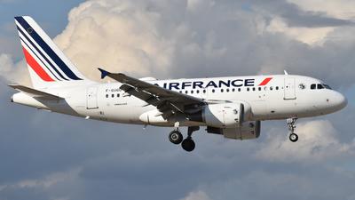 A picture of FGUGO - Airbus A318111 - Air France - © Luca Ferrari 777
