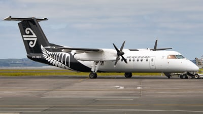 A picture of ZKNES - De Havilland Canada Dash 8300 - Air New Zealand - © Cameron Matthews