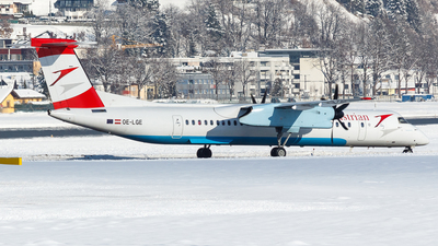OE-LGE - Bombardier Dash 8-Q402 - Austrian Airlines