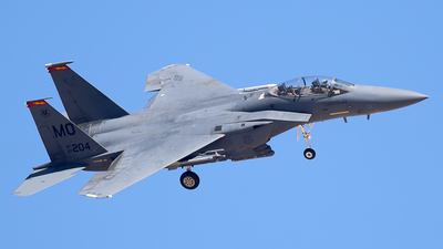 87-0204 - McDonnell Douglas F-15E Strike Eagle - United States - US Air Force (USAF)
