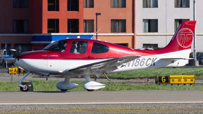 N186CK - Cirrus SR22T-GTS - Private
