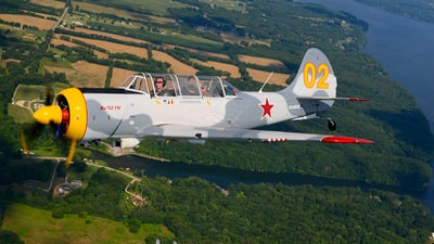 N2860X - Yakovlev Yak-52TW - Private