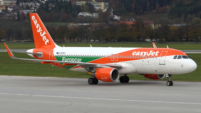 G-EZPD - Airbus A320-214 - easyJet