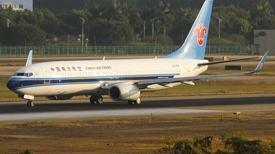 B-1781 - Boeing 737-86N - China Southern Airlines