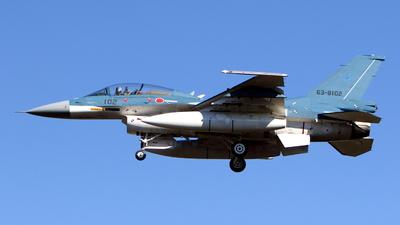63-8102 - Mitsubishi F-2B - Japan - Air Self Defence Force (JASDF)