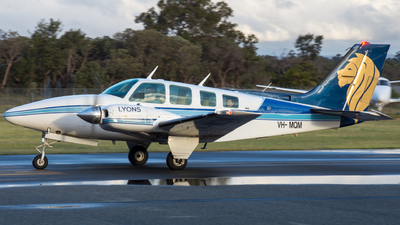 VH-MQM - Beechcraft 58 Baron - Paul Lyons Aviation