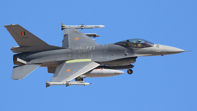 FA-97 - General Dynamics F-16AM Fighting Falcon - Belgium - Air Force