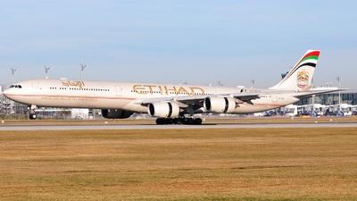 A6-EHL - Airbus A340-642 - Etihad Airways