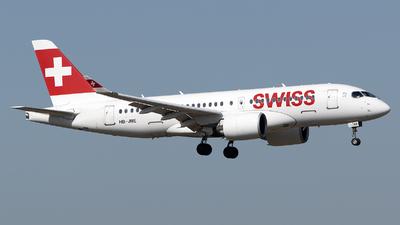 HB-JBE - Bombardier CSeries CS100  - Swiss