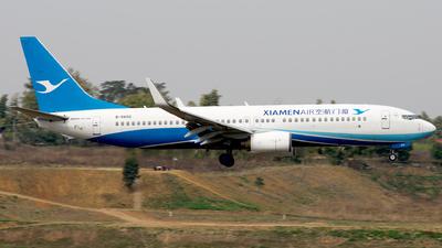 A picture of B5602 - Boeing 73786N - Xiamen Air - © baobao723