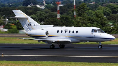 XA-HEL - Hawker Beechcraft 800XP - Private