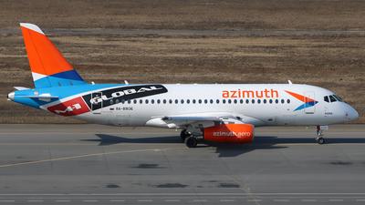 A picture of RA89136 - Sukhoi Superjet 10095LR - Azimuth - © SeniorNN