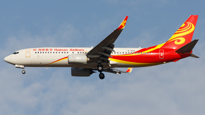 A picture of B1492 - Boeing 73786N - Hainan Airlines - © H.C.