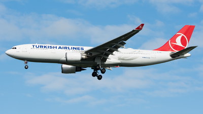 TC-JNE - Airbus A330-203 - Turkish Airlines