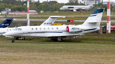N817TV - Cessna 680 Citation Sovereign - Private