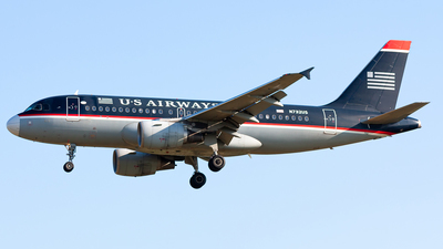 N732US - Airbus A319-112 - US Airways