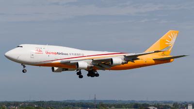 ER-BAJ - Boeing 747-412(BDSF) - Uni-Top Airlines (AeroTrans Cargo)