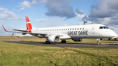 G-FBEK - Embraer 190-200LR - Great Dane Airlines
