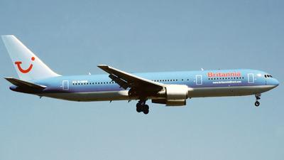 G-OBYB - Boeing 767-304(ER) - Britannia Airways