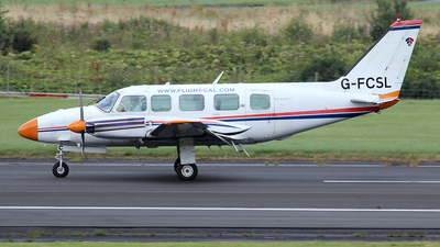 G-FCSL - Piper PA-31-350 Navajo Chieftain - Culross Aerospace