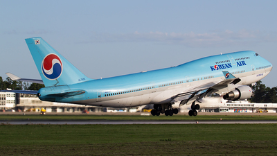 HL7491 - Boeing 747-4B5 - Korean Air