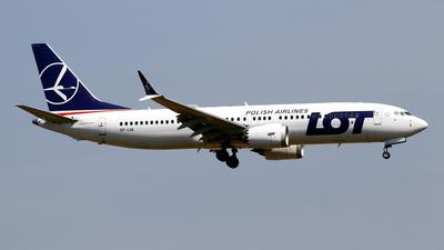 SP-LVA - Boeing 737-8 MAX - LOT Polish Airlines