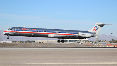 N455AA - McDonnell Douglas MD-82 - American Airlines