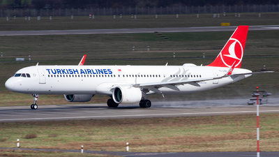 A picture of TCLSN - Airbus A321271NX - Turkish Airlines - © Fabian Behr