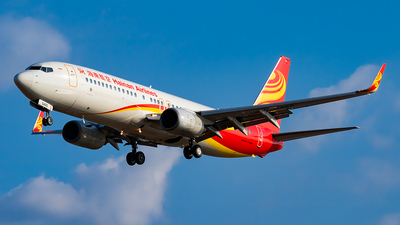 A picture of B5465 - Boeing 73784P - Hainan Airlines - © SnowMiku39