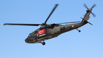 J-2040 - Sikorsky S-70A-28 Blackhawk - Turkey - Jandarma