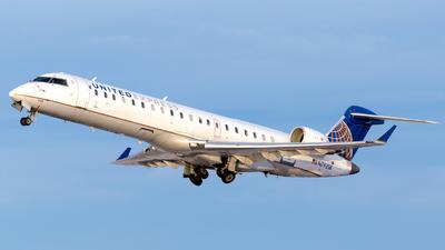 A picture of N793SK - Mitsubishi CRJ701ER - United Airlines - © HA-KLS