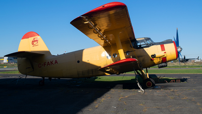 C-FAKA - PZL-Mielec An-2 - Private