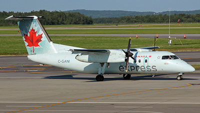 C-GANI - Bombardier Dash 8-102 - Air Canada Express (Jazz Aviation)