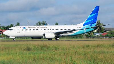 PK-GMJ - Boeing 737-8U3 - Garuda Indonesia