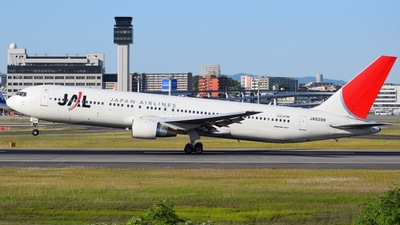 JA8299 - Boeing 767-346 - Japan Airlines (JAL)