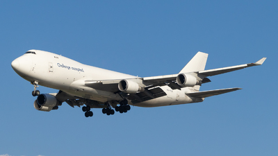A picture of 4XICA - Boeing 7474EVF(ER) - CAL Cargo Airlines - © Eyal Zarrad