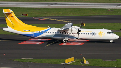 OY-YAN - ATR 72-212A(500) - Express Airways