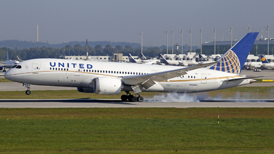 A picture of N26909 - Boeing 7878 Dreamliner - United Airlines - © Manfred Franke