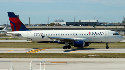 N319US - Airbus A320-211 - Delta Air Lines