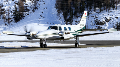 A picture of HBLNL - Piper PA31T Cheyenne - [31T8020083] - © Lorenzo Varin - AirTeamImages