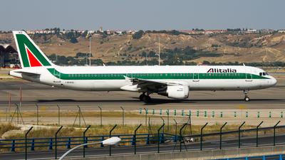 I-BIXQ - Airbus A321-112 - Alitalia
