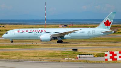 C-FGDX - Boeing 787-9 Dreamliner - Air Canada