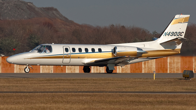 N490DC - Cessna 550 Citation II - Private