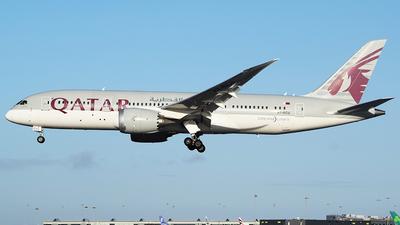 A picture of A7BCU - Boeing 7878 Dreamliner - Qatar Airways - © John Fitzpatrick