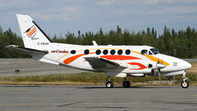 C-FEYP - Beechcraft 100 King Air - Air Creebec