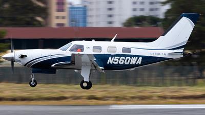 N560WA - Piper PA-46-500TP Malibu Meridian - Private